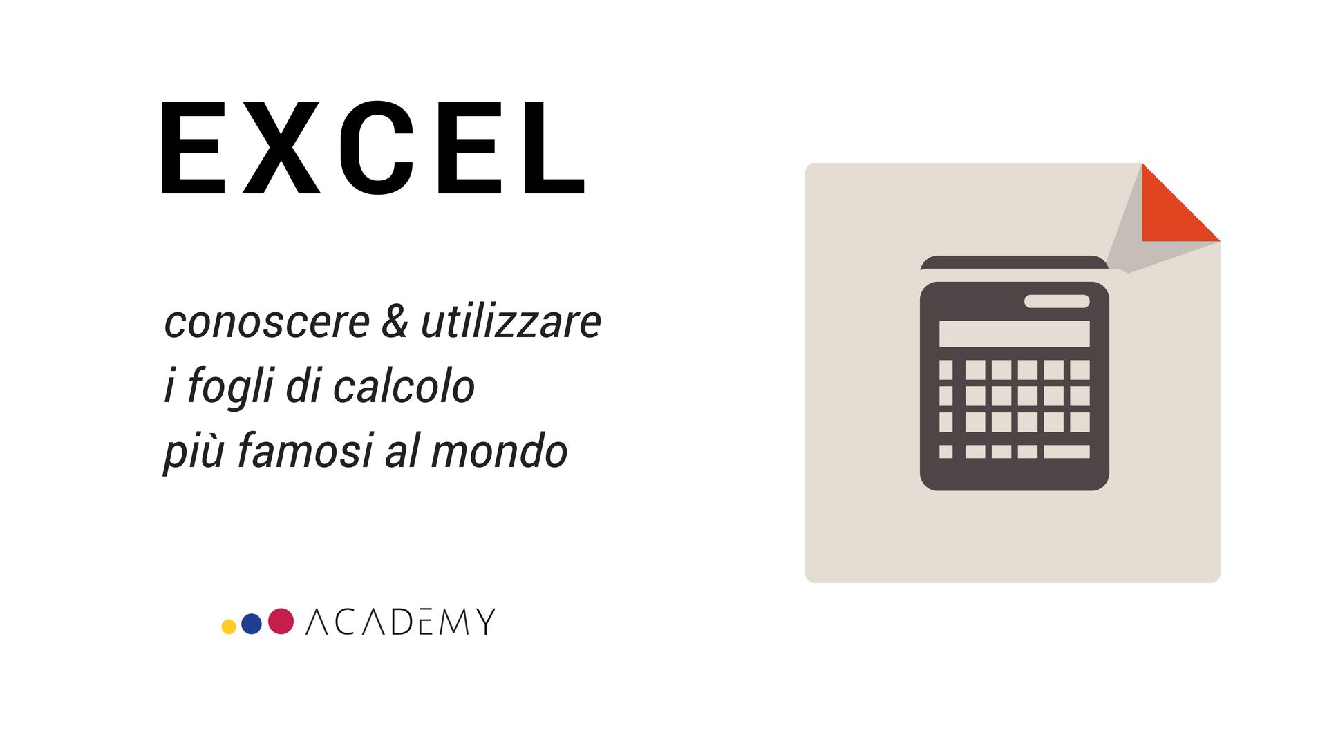 Video corso online di Microsoft Excel!