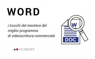 Introduzione all'uso di Microsoft Word