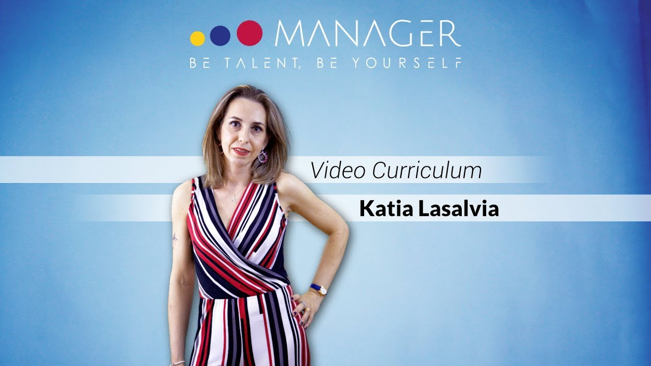 video curriculum katia lasalvia