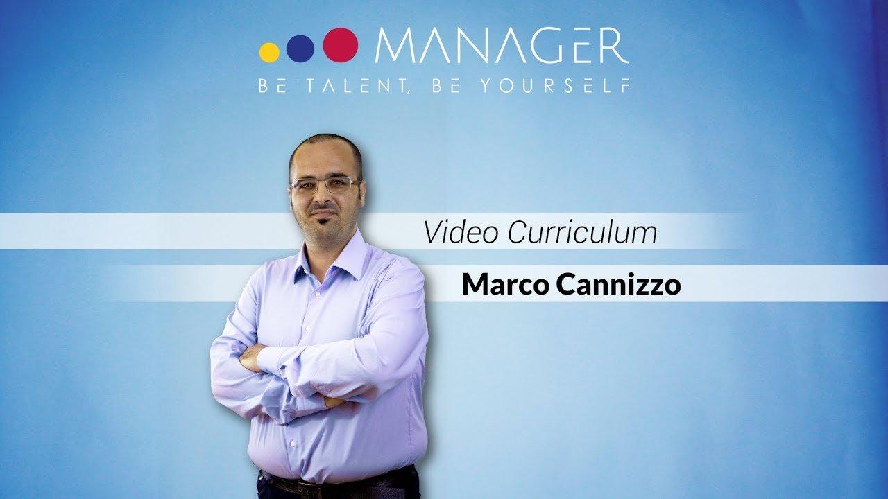presentazione video curriculum marco cannizzo