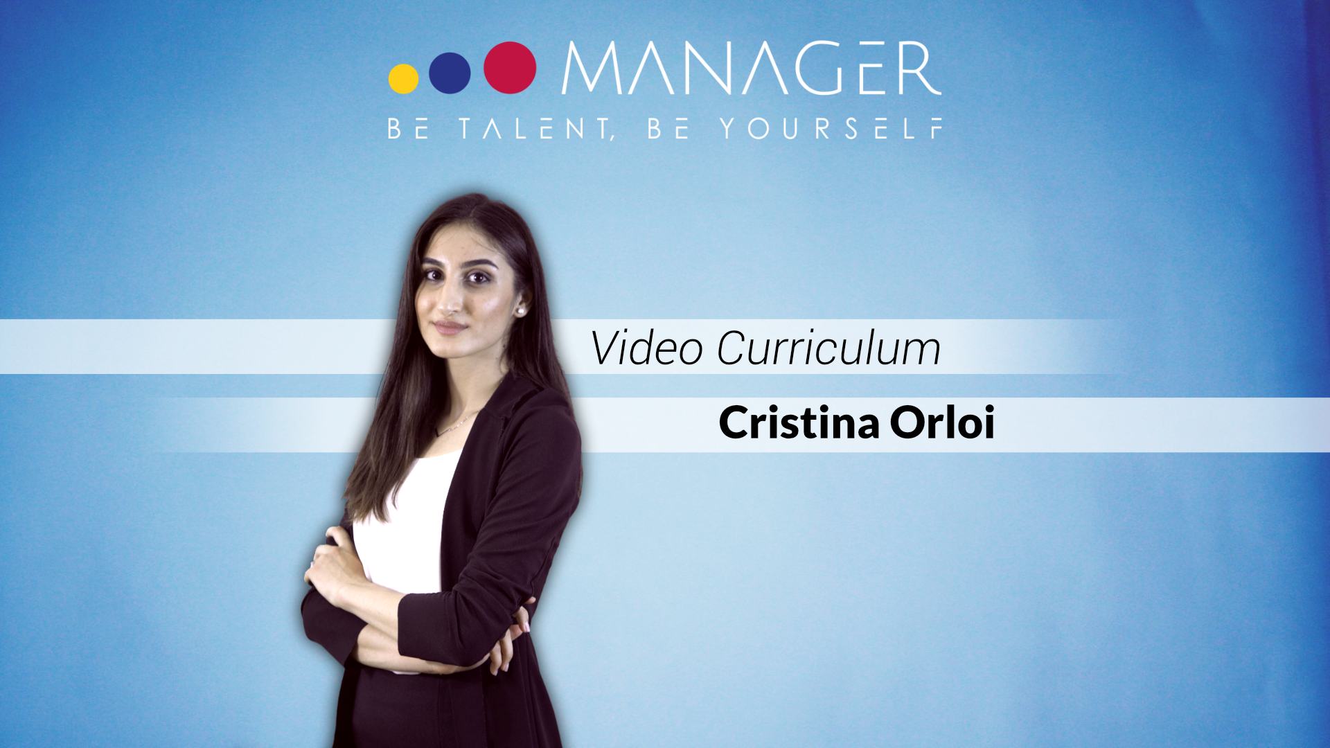 Video Curriculum di Cristina Orloi