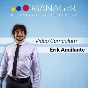 Video Curriculum di Erik Aquilante