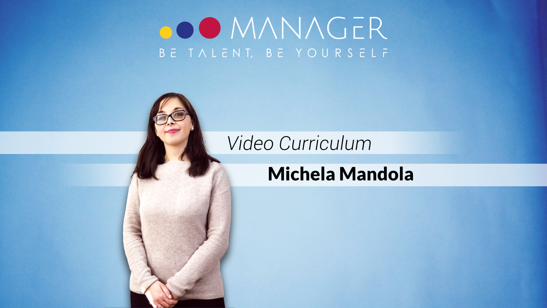video curriculum michela mandola
