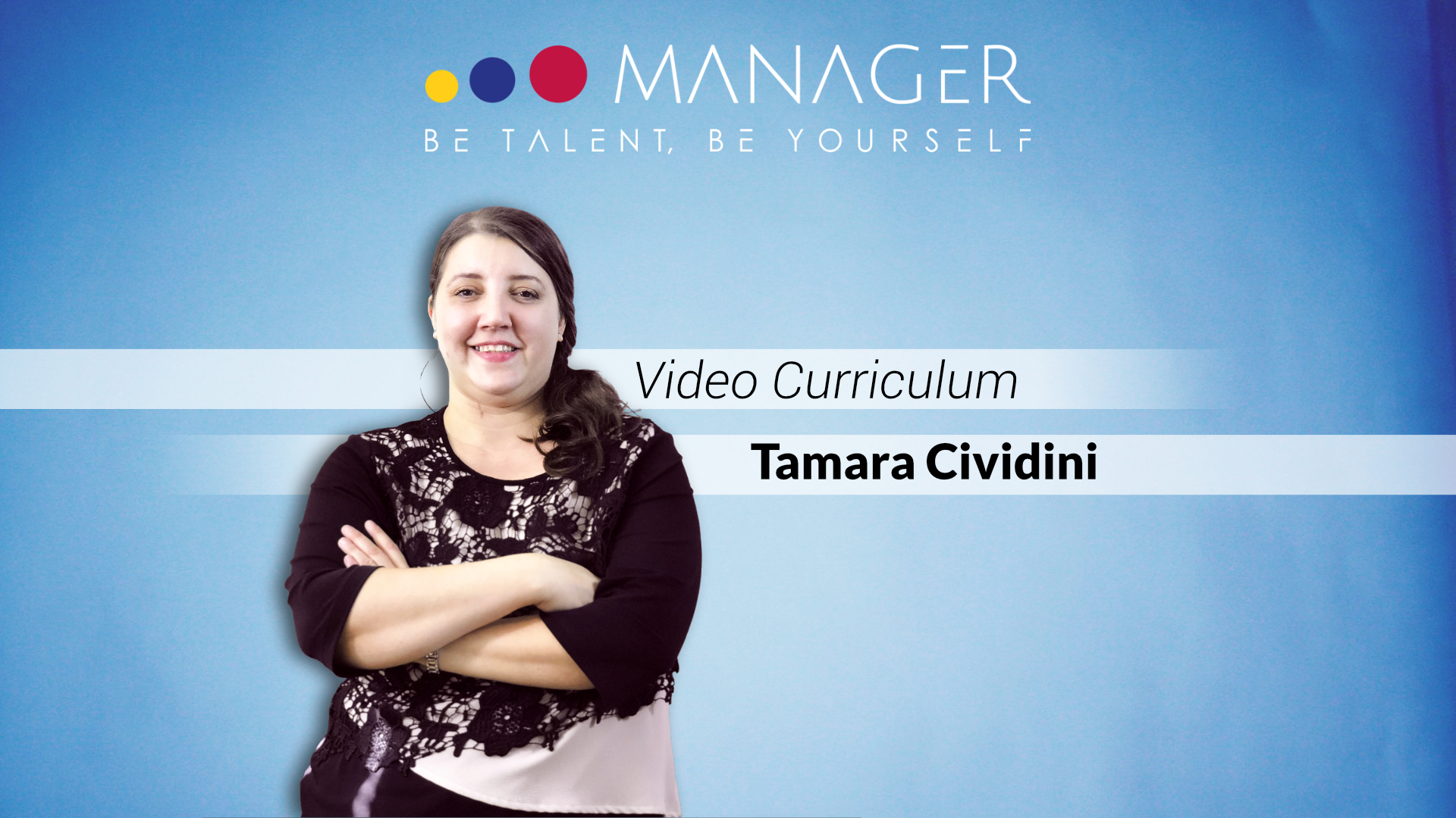 video curriculum tamara cividini
