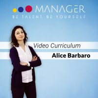Video Curriculum di Alice Barbaro
