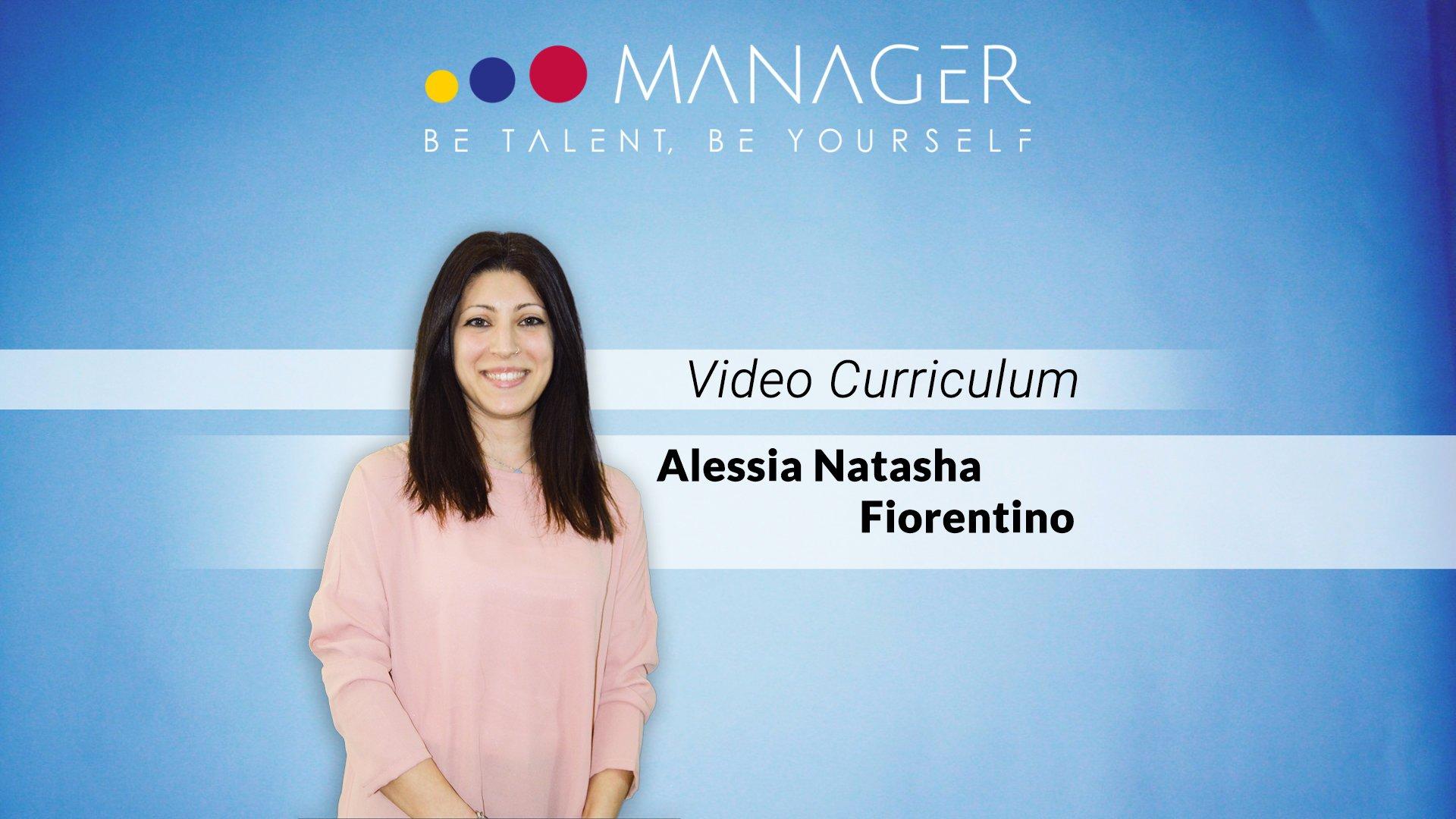 video curriculum alessia natasha fiorentino