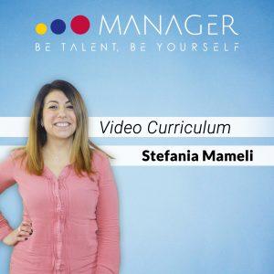 video-curriculum-stefania-mameli