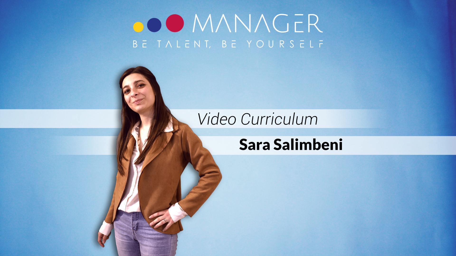video curriculum di Sara Salimbeni