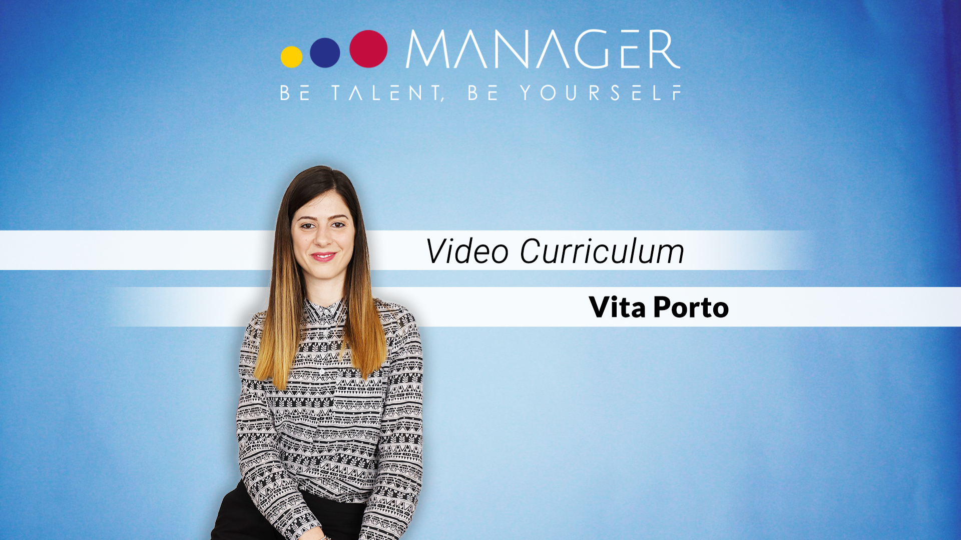 video curriculum vita porto