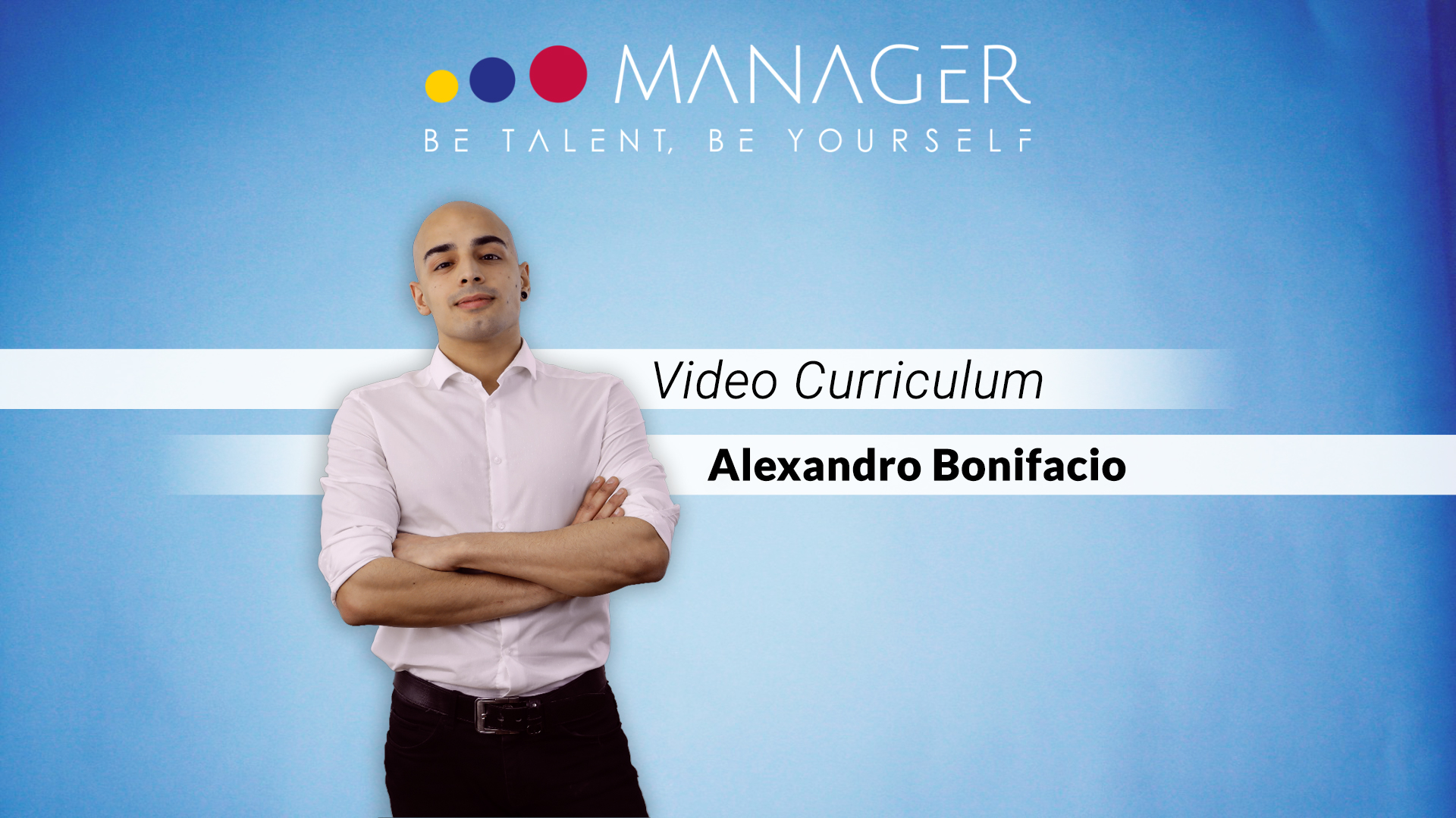 video curriculum alexandro bonifacio