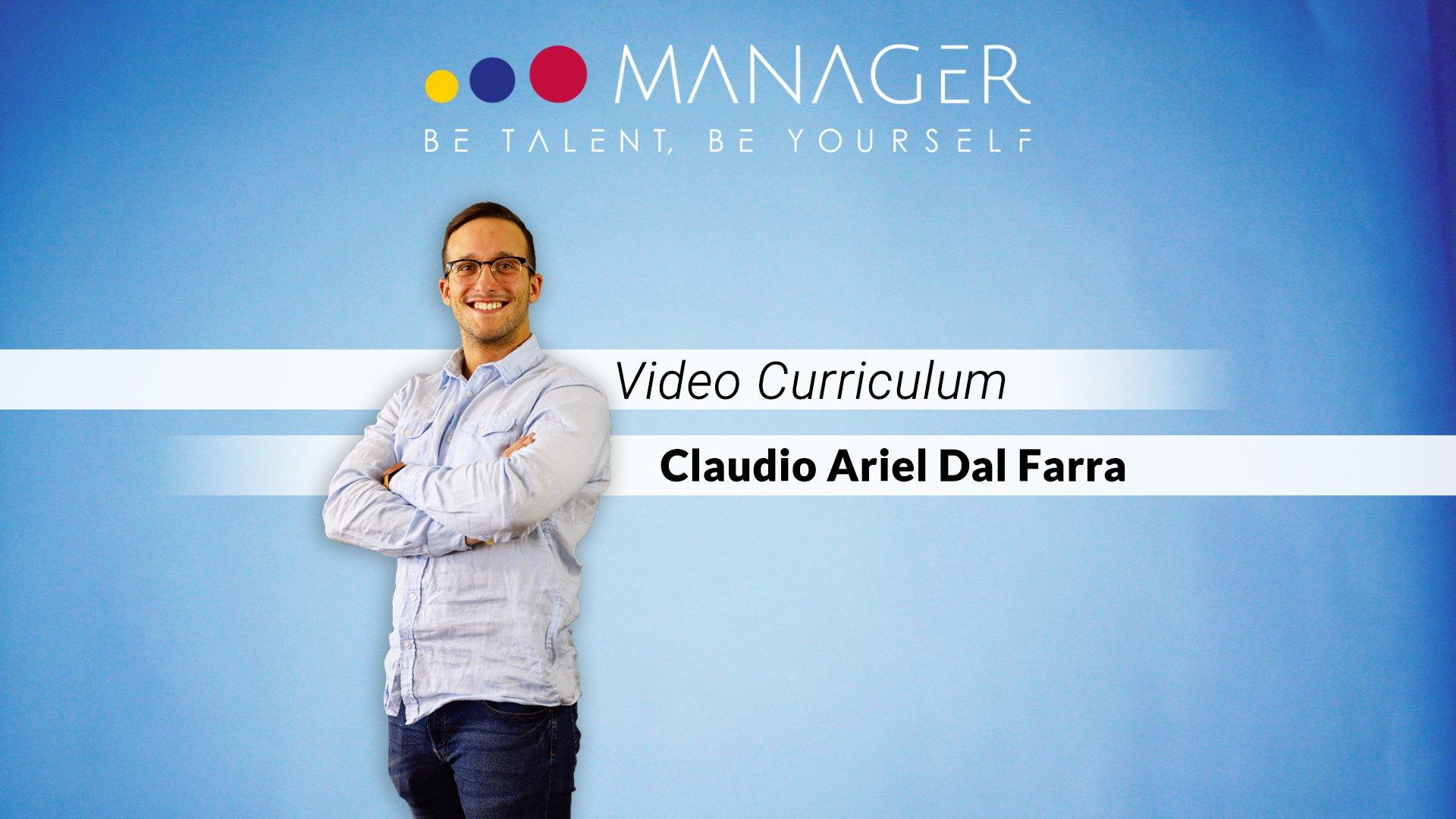video curriculum claudio ariel dal farra
