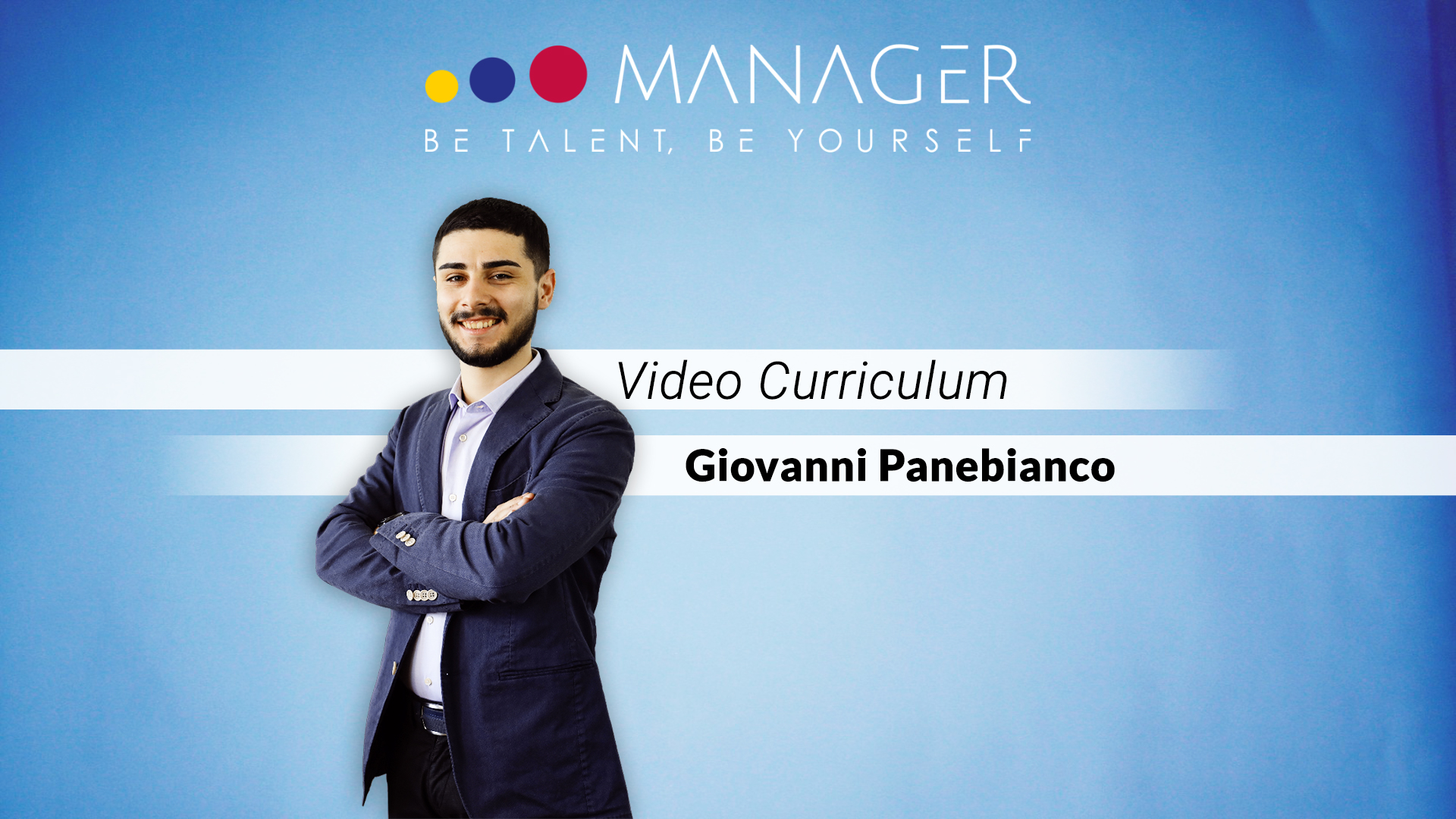 video curriculum giovanni panebianco
