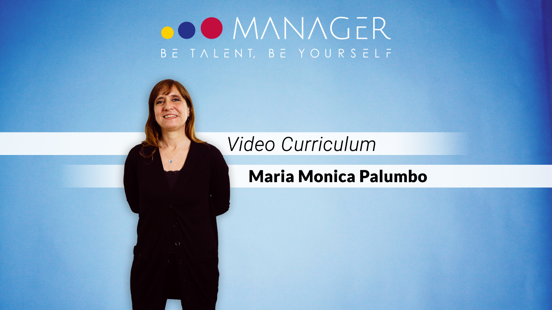 video curriculum monica palumo
