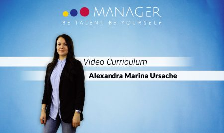 Video Curriculum di Alexandra Marina Ursache