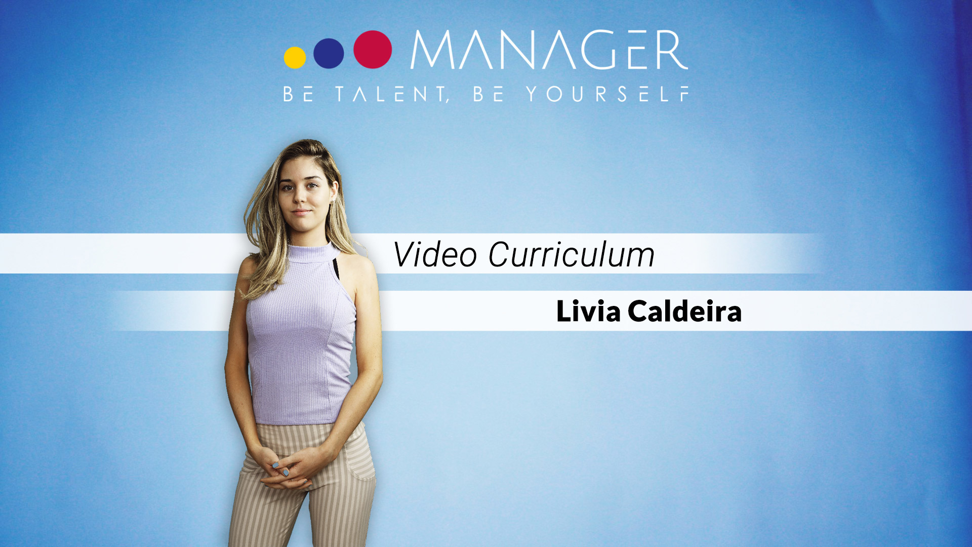 video curriculum livia caldeira